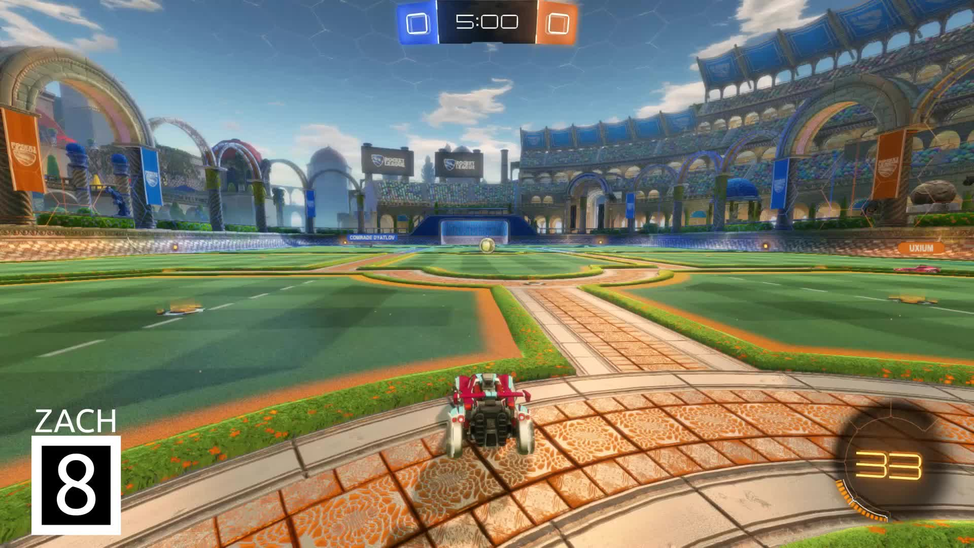 Gif Your Game, GifYourGame, Goal, Rocket League, RocketLeague, Zach, Goal 1: Zach GIFs