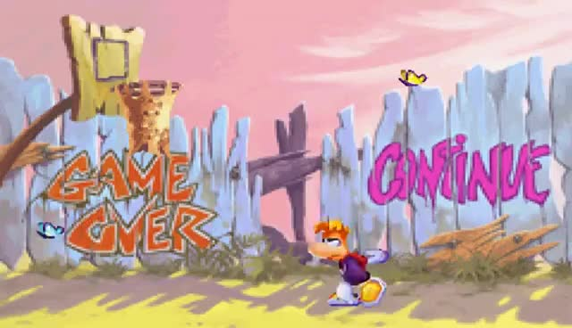 Watch Rayman 3! (GBA) - Game Over GIF on Gfycat. Discover more related GIFs on Gfycat