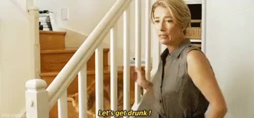 Watch this emma thompson GIF on Gfycat. Discover more celia imrie, comedy, drinks, drunk, emma thompson, lets get drunk, love punch, me, mine, night, pierce brosnan, the love punch, timothy spall, uni, vodka GIFs on Gfycat