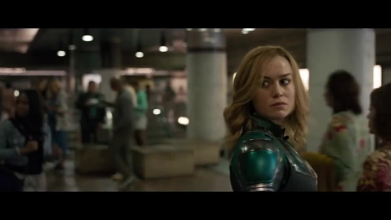 captain marvel punches an old lady