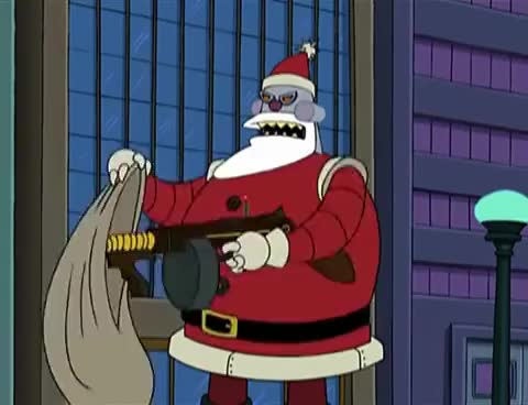 Watch [Futurama] - Santa Has Something Very Special In His Sack For You Two GIF on Gfycat. Discover more Fry, Futurama, Leela, christmas, cola, elena, santa, x-mas, xmas GIFs on Gfycat