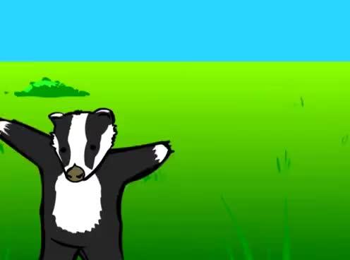 Watch and share Badger Badger Mushroom GIFs on Gfycat
