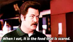 Watch swanson food GIF on Gfycat. Discover more **, Nick Offerman, Parks and Recreation, Ron Swanson, me, parks* GIFs on Gfycat