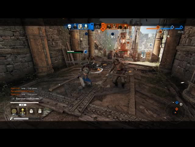 Watch thru guard GIF by @blargh686 on Gfycat. Discover more forhonor GIFs on Gfycat