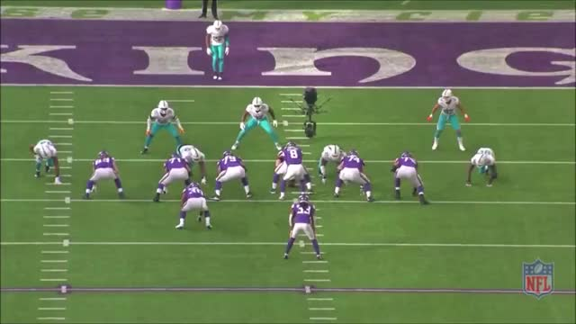Watch and share Vikings Next Two TDs Dolphins GIFs by whirledworld on Gfycat
