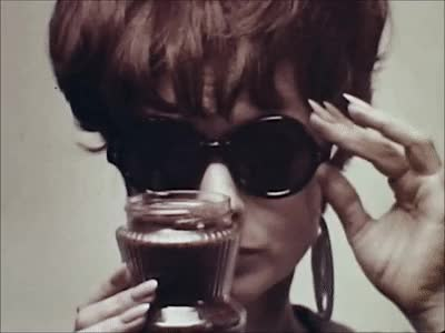 Watch Smell the Coffee: Via Maxwell House Ad (1960s) Marc Rodriguez GIF by Marc Rodriguez (@marcrodriguez) on Gfycat. Discover more ad, advertising, coffee, fashion, java, joe, marc rodriguez, smell the coffee, sunglasses, television, tv, vintage, vintage gifs GIFs on Gfycat
