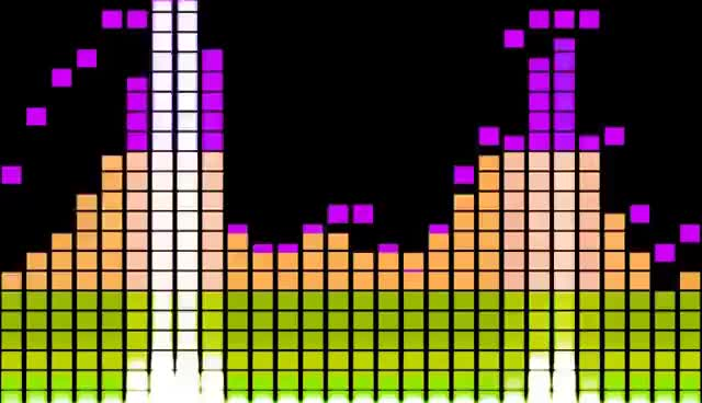 Colorful music sound bars equalizer vector background download.