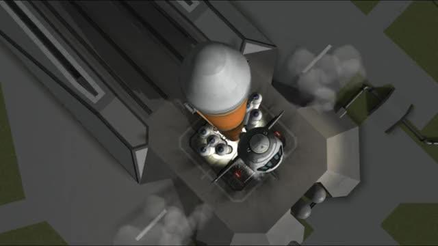Watch Mun Eject Shuttle GIF on Gfycat. Discover more kerbalspaceprogram GIFs on Gfycat