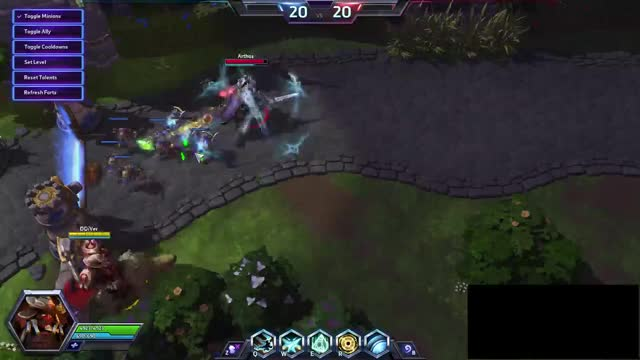 Watch and share Artanis Combo Arthas GIFs on Gfycat