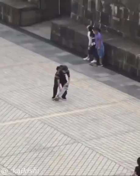 What could go wrong skating in huge winds