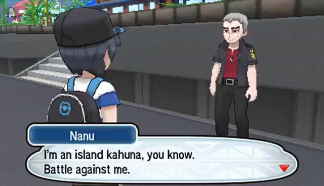 Watch Pokemon Sun & Moon - All Kahuna Battle (HQ) GIF on Gfycat. Discover more related GIFs on Gfycat