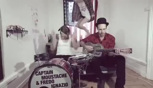 Watch and share Captain Moustache & Fredo Ignazio - And In The Morning (Official Video) GIFs on Gfycat