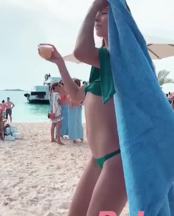 Watch and share Bikini GIFs and Beach GIFs on Gfycat
