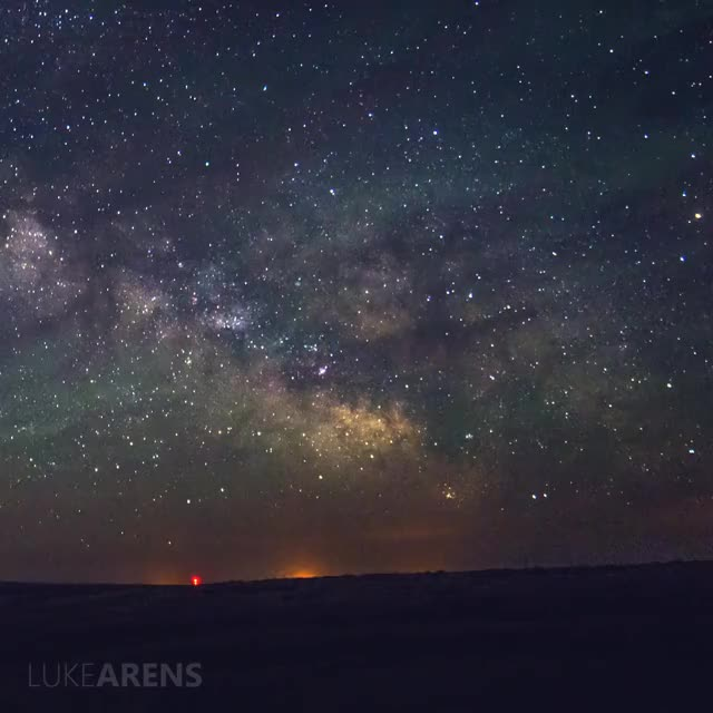 Watch and share Milky Way GIFs and Timelapse GIFs by lukearens on Gfycat