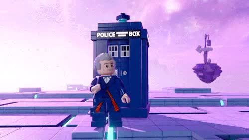 Watch and share Lego Dimensions GIFs and Twelfth Doctor GIFs on Gfycat
