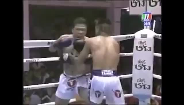 Watch Ozzy Man Reviews: Funniest Kickboxing Match Ever GIF on Gfycat. Discover more related GIFs on Gfycat