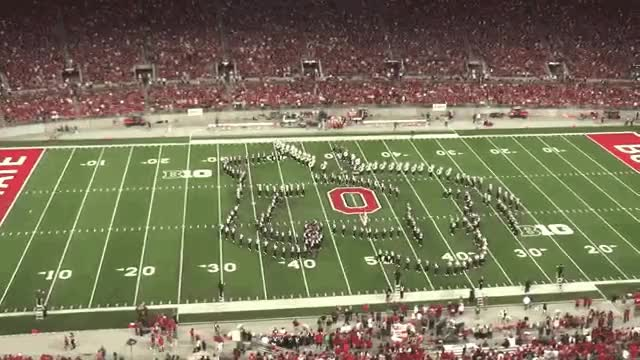 Watch and share Ohio State Marching Band Tribute GIFs on Gfycat