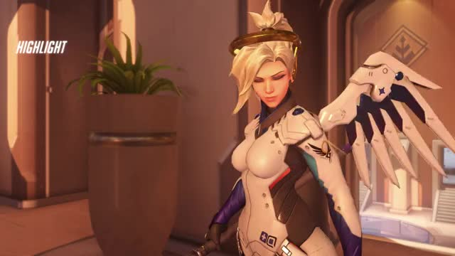 Watch Mercy GIF by @cadaverify on Gfycat. Discover more highlight, mercy, overwatch GIFs on Gfycat