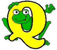 Watch and share Frog-q-letter.gif animated stickers on Gfycat