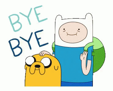 adios, adventure, best, bff, bye, farewell, friends, goodbye, see, soon, time, you, Adventure time - Bye Bye GIFs