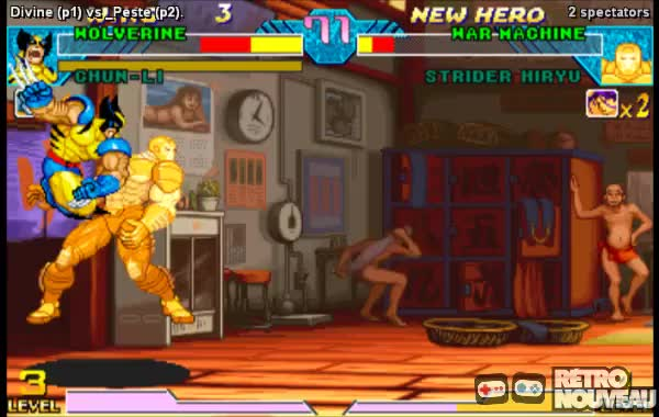 Watch and share Marvel VS Capcom GIFs by simonlah on Gfycat