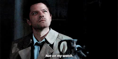 Watch not on my watch GIF on Gfycat. Discover more *, *destiel, 1k, 5x03, casinthongs, chervoletimpala, destiel, favdestiel, i can't believe this actually happened, inacatastrophicmind, mine, spnedit, trenchcoatandhalo GIFs on Gfycat