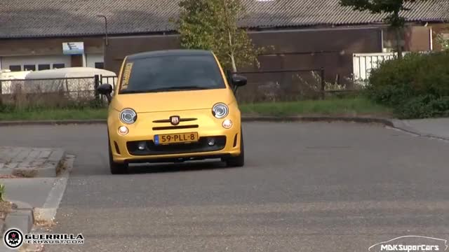 Watch and share MY ABARTH 500 W/ GUERRILLA BYPASS EXHAUST | LOUD BACKFIRES + REVS GIFs on Gfycat