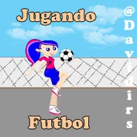 Watch and share Jugando Futbol Mujeres GIFs on Gfycat