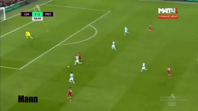 Watch and share Roberto Firmino Goal  Liverpool Vs Manchester City 2-1 14/01/2018 HD!! GIFs on Gfycat