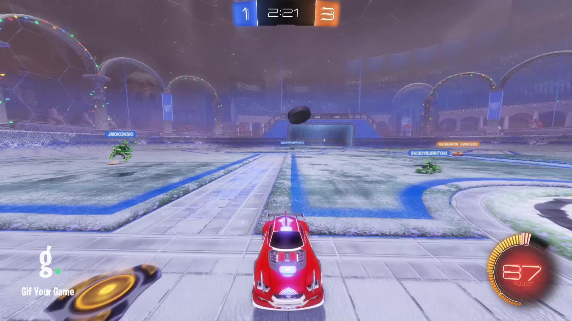 Gif Your Game, GifYourGame, Goal, Rocket League, RocketLeague, Vrae, Goal 5: Vrae GIFs