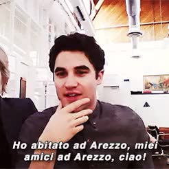 Watch and share Italians? Help? GIFs and Darren Criss GIFs on Gfycat