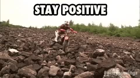 Watch and share Stay Positive GIFs on Gfycat