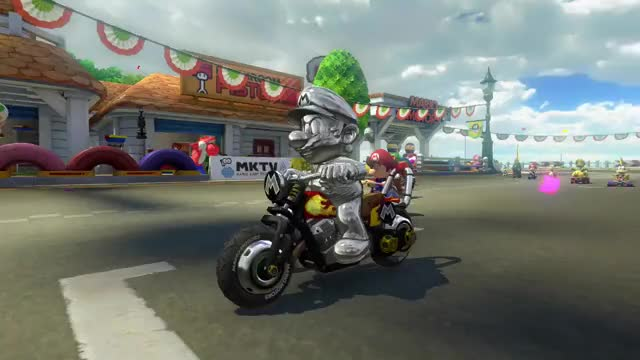 Watch and share Mario Kart Gameplay GIFs and Mario Kart Ghost GIFs by The Legend on Gfycat