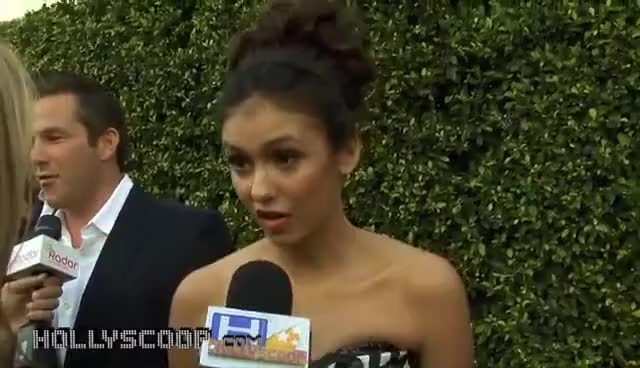 Watch nina dobrev GIF on Gfycat. Discover more dobrev, elena, nina, vampire GIFs on Gfycat