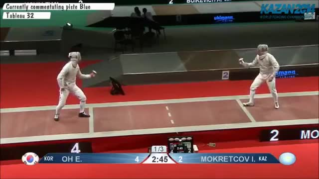 Watch and share Oh V Mokretcov Parry On Backline GIFs on Gfycat