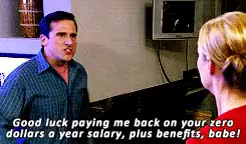 Watch and share Michael Scott GIFs and Dinner Party GIFs on Gfycat