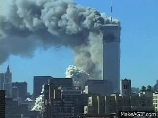 Watch and share September 11, 2001 Attack - WTC Collapse GIFs on Gfycat