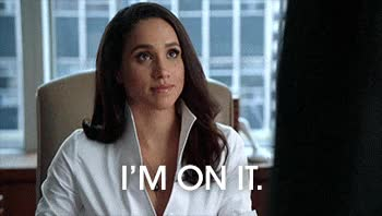 Watch suits, meghan markle, rachel zane, im on it GIF on Gfycat. Discover more related GIFs on Gfycat
