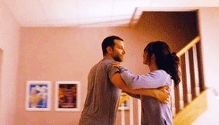 **, bradley cooper, gahh look at them totally eye-sexing each other, jennifer lawrence, otp forever, silver linings playbook, nope nope nope GIFs