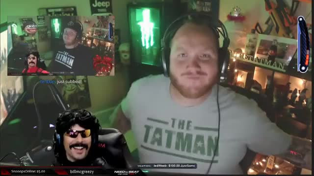TimTheTatman and DrDisrespect Body Roll-Ception LUL Streamers 720p 29.01.2019 (2)