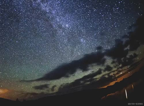 Watch and share Wilted-scenes: Meteor Shower Time Lapse 3/? (x) GIFs on Gfycat