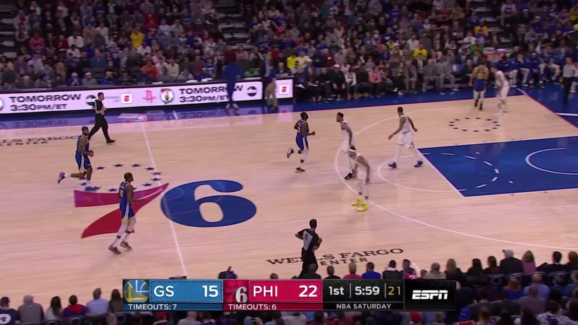 Ben Simmons, NBA, Philadelphia 76ers, Sixers, basketball, Bolden Simmons switch GIFs