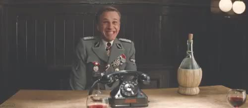 Watch mademesmile GIF on Gfycat. Discover more christoph waltz GIFs on Gfycat