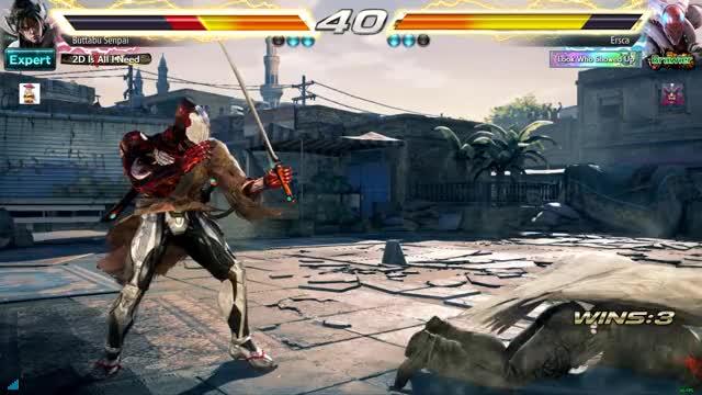 Watch Walking Over it GIF by Ersca (@erscade) on Gfycat. Discover more Devil Jin, Tekken, Yoshimitsu GIFs on Gfycat