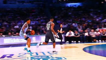 Watch and share John Collins — 2019 Rising Stars Challenge GIFs by Off-Hand on Gfycat