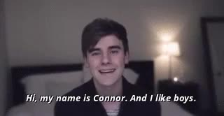 Watch Talking About Boys JuliaTheHuman GIF on Gfycat. Discover more connor franta, gay, just ignore julia, lol I WILL NEVER LEARN HOW TO TAG, my gifs, tronnor, youtube GIFs on Gfycat