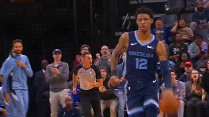 Watch and share Ja Morant — Memphis Grizzlies GIFs by Off-Hand on Gfycat