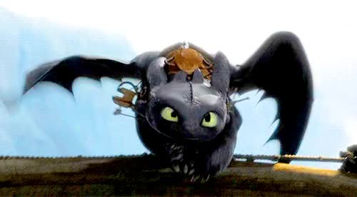 Watch and share How To Train Your Dragon GIFs and Toothless GIFs on Gfycat