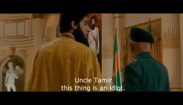 Watch and share The Dictator - Double Scene (eng Sub) GIFs on Gfycat
