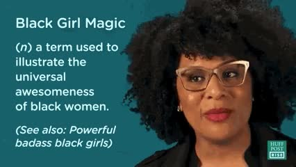 Watch black girl magic GIF on Gfycat. Discover more related GIFs on Gfycat